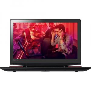 """Resigilat - Laptop Gaming Lenovo IdeaPad Y700-15ISK cu procesor Intel® Core™ i7-6700HQ 2.60GHz, Skylake, 15.6"""", Full HD, 8GB, 1TB HDD, nVIDIA GeForce GTX 960M 4GB, Windows 10 Home, Black [1]"""