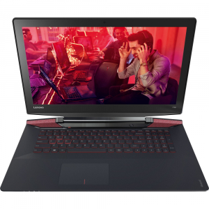 """Resigilat - Laptop Gaming Lenovo IdeaPad Y700-15ISK cu procesor Intel® Core™ i7-6700HQ 2.60GHz, Skylake, 15.6"""", Full HD, 8GB, 1TB HDD, nVIDIA GeForce GTX 960M 4GB, Windows 10 Home, Black0"""