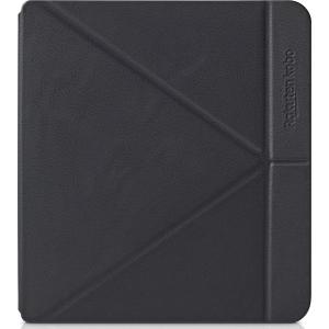 Husa de protectie Kobo Libra H2O Sleep Cover, negru, N873-AC-BK-E-PU