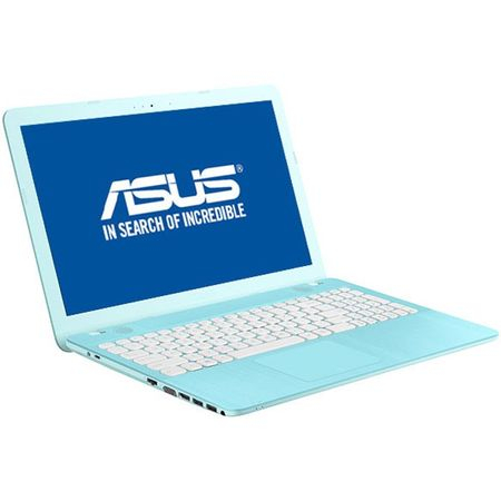 "ASUS X541UA-GO1710, 15.6"", I3-7100U, 4GB, 500GB, DVD-RW, ENDLESS AQUA BLUE1"