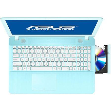 "ASUS X541UA-GO1710, 15.6"", I3-7100U, 4GB, 500GB, DVD-RW, ENDLESS AQUA BLUE4"