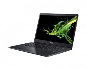 Laptop Acer Aspire 3 Intel Core Whiskey Lake (8th Gen) i3-8145U 1TB 4GB nVidia GeForce MX230 2GB FullHD IPS Black nx.hedex.0292