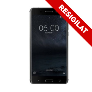 ResigilatTelefon Mobil Nokia 6, Dual Sim, 32 GB, Black (6438409004598)0