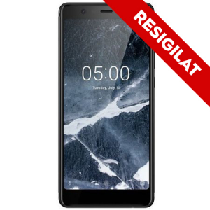 Resigilat-Telefon mobil Nokia 5.1 (2018), Dual SIM, 16GB, 4G, Black (11CO2B01A07)0