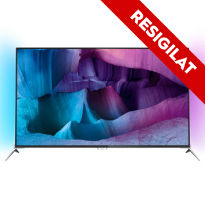 Resigilat-Televizor LED Smart Android 3D Philips, 123 cm, 49PUS7100/12, 4K Ultra HD  (49PUS7100/12)0