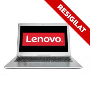 "Resigilat-Laptop Lenovo IdeaPad 510-15IKB cu procesor Intel® Core™ i7-7500U 2.70 GHz, Kaby Lake™, 15.6"", Full HD, IPS, 8GB, 1TB, DVD-RW, nVidia GeForce 940MX 4GB, Free DOS, Silver"