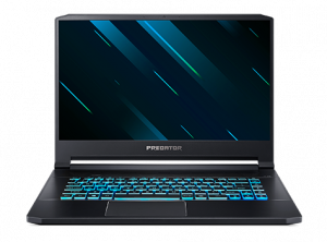 "Laptop Gaming Acer Predator Triton 500 PT515-51 (Procesor Intel® Core™ i7-9750H (12M Cache, up to 4.50 GHz), Coffee Lake, 15.6"" FHD, 16GB, 1TB SSD, nVidia GeForce RTX 2070 @8GB, Win10 Home, Negru) (NH0"