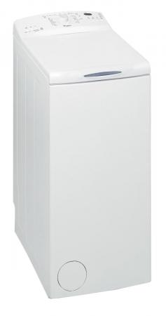 Masina de spalat rufe cu incarcare verticala Whirlpool AWE 66710, 6th Sense, 6 kg, 1000 RPM, Clasa A+++, Alb0