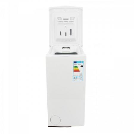 Masina de spalat rufe cu incarcare verticala Whirlpool AWE 66710, 6th Sense, 6 kg, 1000 RPM, Clasa A+++, Alb1