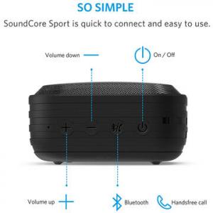 Boxa portabila Anker SoundCore Sport, bluetooth, negru4