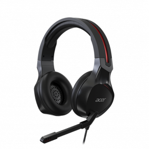 Casti Gaming Acer Nitro NP.HDS1A.008, Microfon (Negru)0
