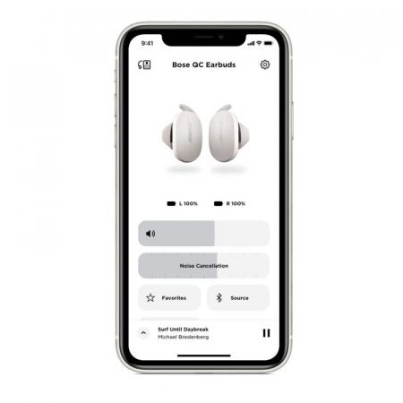 Casti In Ear true wireless cu anularea zgomotului Bose Quiet Comfort Earbuds Soapstone [2]