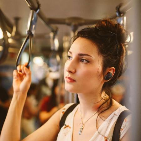 Casti In Ear true wireless cu anularea zgomotului Bose Quiet Comfort Earbuds Soapstone [4]