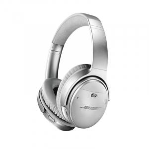 Casti wireless cu anularea zgomotului Bose Quiet Comfort 35 II, Silver, 789564-00201