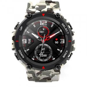 Ceas smartwatch Amazfit T-Rex, Camo Green [1]