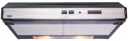 Hota traditionala Beko CFB6433X, Putere de absorbtie 365 m3/h, 2 motoare, 60 cm, Inox [1]