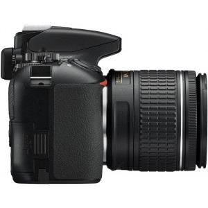 Aparat foto DSLR Nikon D3500, 24.2MP, Negru + Obiectiv AF-P 18-55mm VR0
