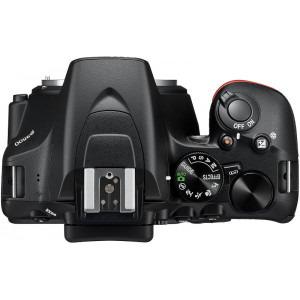 Aparat foto DSLR Nikon D3500, 24.2MP, Negru + Obiectiv AF-P 18-55mm VR1