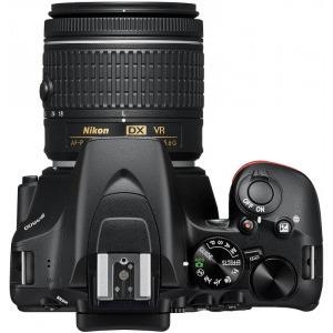 Aparat foto DSLR Nikon D3500, 24.2MP, Negru + Obiectiv AF-P 18-55mm VR3