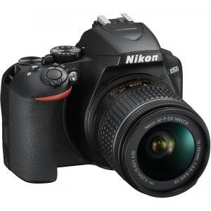 Aparat foto DSLR Nikon D3500, 24.2MP, Negru + Obiectiv AF-P 18-55mm VR4