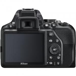 Aparat foto DSLR Nikon D3500, 24.2MP, Negru + Obiectiv AF-P 18-55mm VR5