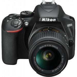 Aparat foto DSLR Nikon D3500, 24.2MP, Negru + Obiectiv AF-P 18-55mm VR7