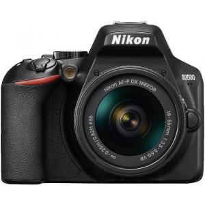 Aparat foto DSLR Nikon D3500, 24.2MP, Negru + Obiectiv AF-P 18-55mm VR8