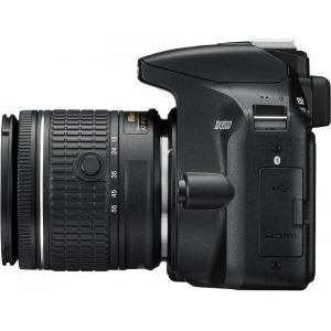 Aparat foto DSLR Nikon D3500, 24.2MP, Negru + Obiectiv AF-P 18-55mm VR9