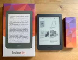 "eBook Reader KOBO Nia, N306-KU-BK-K-EP,  6"", 8GB, Negru3"