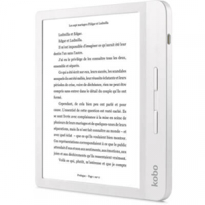 "eBook Reader Kobo Libra H2O, 7"", 8GB, Wi-Fi, White2"