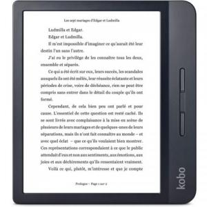 Resigilat - eBook Reader Kobo Libra H2O N873-KU-BK-K-EP 7inch, 8GB, Black [0]