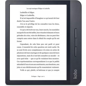 eBook Reader Kobo Libra H2O N873-KU-BK-K-EP 7inch, 8GB, Black0