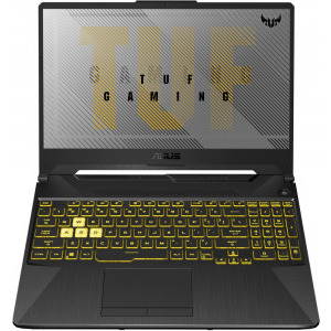 Laptop ASUS Gaming 15.6'' ASUS TUF F15 FX506LU-HN767, FHD 144Hz, Procesor Intel® Core™ i7-10870H (16M Cache, up to 5.00 GHz), 8GB DDR4, 512GB SSD, GeForce GTX 1660 Ti 6GB, No OS, Fortress Gray [2]