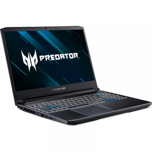 Notebook / Laptop Acer Gaming 15.6'' Predator Helios 300 (NH.Q54EX.01E) PH315-52, FHD IPS 144Hz, Procesor Intel® Core™ i7-9750H (12M Cache, up to 4.50 GHz), 32GB DDR4, 1TB SSD, GeForce RTX 2060 6GB, W3