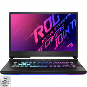 Laptop ASUS Gaming 15.6'' ROG Strix G15 G512LV-AZ220, FHD 240Hz, Procesor Intel® Core™ i7-10870H (16M Cache, up to 5.00 GHz), 16GB DDR4, 1TB SSD, GeForce RTX 2060 6GB, No OS, Black0