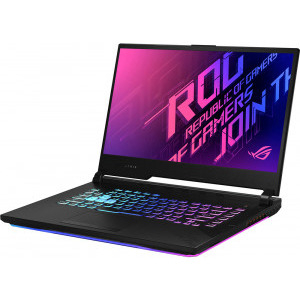"Laptop Gaming ASUS ROG Strix G15 G512LWS-AZ003, Intel® Core™ i7-10750H Processor (12M Cache, up to 5.00 GHz), 15.6"" Full HD, 16GB, SSD 1TB, NVIDIA GeForce RTX 2070 Super 8GB, Free DOS, Negru3"