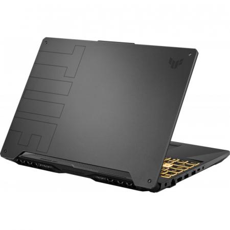 "Laptop Gaming Asus TUF F15 FX506HC-HN002, Intel Core i5-11400H, 15.6"", 8GB, 512GB SSD, GeForce RTX 3050 4GB, No OS, Eclipse Gray [4]"