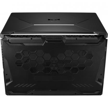 Laptop ASUS Gaming 17.3'' TUF F17 FX706HCB-HX145, FHD 144Hz, Procesor Intel® Core™ i5-11400H (12M Cache, up to 4.50 GHz), 8GB DDR4, 512GB SSD, GeForce RTX 3050 4GB, No OS, Graphite Black [13]