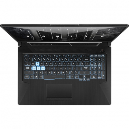 Laptop ASUS Gaming 17.3'' TUF F17 FX706HCB-HX145, FHD 144Hz, Procesor Intel® Core™ i5-11400H (12M Cache, up to 4.50 GHz), 8GB DDR4, 512GB SSD, GeForce RTX 3050 4GB, No OS, Graphite Black [3]