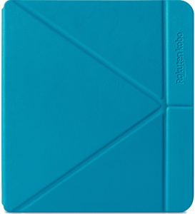 Husa de protectie Kobo Libra H2O Sleep Cover, aqua, N873-AC-AQ-E-PU3
