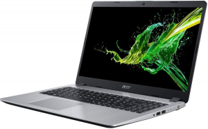 "Laptop Acer Aspire A515-53G, Intel® Core™ i5-8265U (6M Cache, up to 3.90 GHz), Whiskey Lake, 15.6"" FHD, 8GB, 256GB SSD, nVidia GeForce MX130 @2GB, Linux, Argintiu, NX.H84EX.00E2"