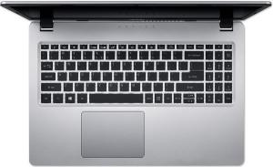 "Laptop Acer Aspire A515-53G, Intel® Core™ i5-8265U (6M Cache, up to 3.90 GHz), Whiskey Lake, 15.6"" FHD, 8GB, 256GB SSD, nVidia GeForce MX130 @2GB, Linux, Argintiu, NX.H84EX.00E3"