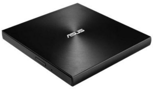 Unitate optica laptop, ASUS ZenDrive08U7M DVD writer extern 8X ultra-subtire 13.9mm , negru
