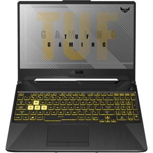 "Laptop Gaming Asus TUF F15 FX506LU-HN137, Intel® Core™ i7-10870H (16M Cache, up to 5.00 GHz), Comet Lake, 15.6"" FHD 144Hz, 8GB, 1TB HDD @5400RPM + 256GB SSD, nVidia GeForce GTX 1660Ti @6GB, No OS, Gri1"