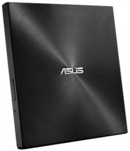 Unitate optica laptop, ASUS ZenDrive08U7M DVD writer extern 8X ultra-subtire 13.9mm , negru2