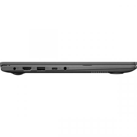 Ultrabook ASUS 14'' VivoBook 14 K413JA-EB534, FHD, cu procesor Intel® Core™ i5-1035G1 (6M Cache, up to 3.60 GHz), 8GB DDR4, 512GB SSD, GMA UHD, No OS, Indie Black [5]