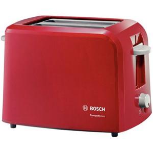 Prajitor de paine Bosch TAT3A014, 980 W, 2 felii, Rosu [0]