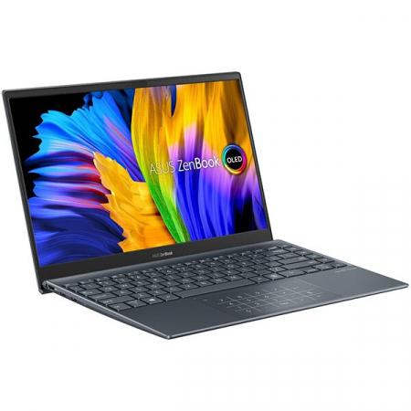 "Laptop ASUS ZenBook 13 UM325UA-KG020T, AMD Ryzen 5 5500U pana la 4GHz, 13.3"" Full HD, 8GB, SSD 512GB, AMD Radeon RX Vega 7, Windows 10 Home, gri3"