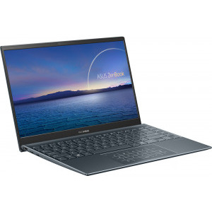 Laptop ASUS ZenBook 14 UM425IA-AM010R AMD Ryzen 5 4500U 512GB SSD 8GB Radeon Graphics FullHD Win10 Pro Tast. ilum. Pine Grey4