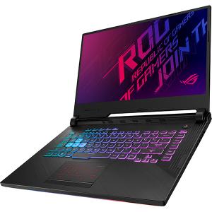 "Laptop Gaming ASUS ROG Strix G G531GU-AL061, Intel Core i7-9750H pana la 4.5GHz, 15.6"" Full HD, 16GB, SSD 512GB, NVIDIA GeForce GTX 1660Ti 6GB, Free Dos, Negru1"